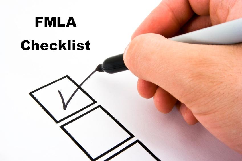 Fmla Checklist Das Hr Consulting